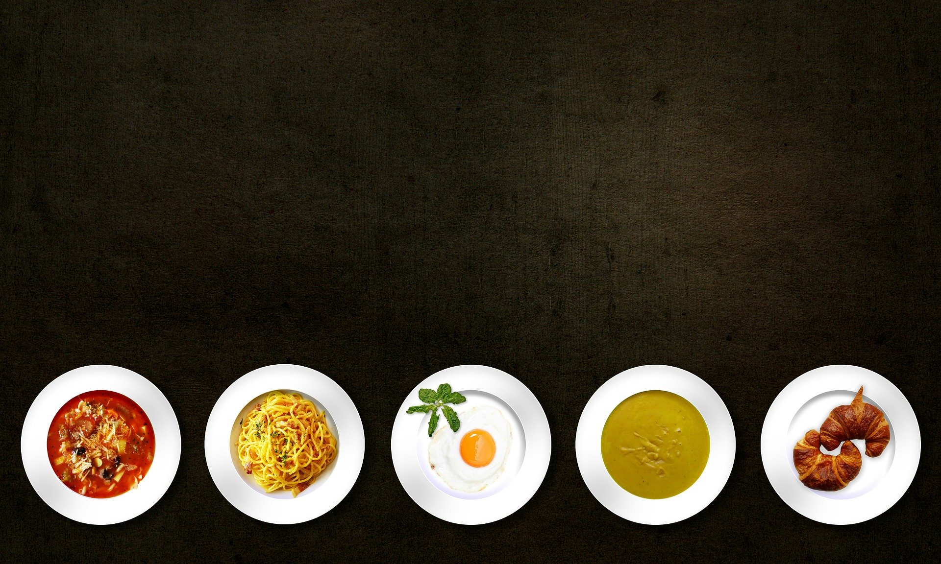 Five dishes to choose
